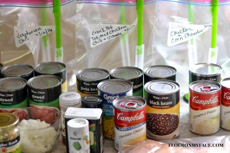 Freezer Meal Crock Pot recipe via flouronmyface.com