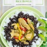 Margarita Lime Chicken Rice Bowls