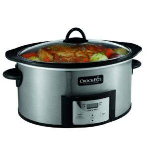 Crock-Pot-6-quart-programable-slow-cooer-stainless-steel