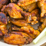 Honey BBQ Buffalo Chicken Wings recipe