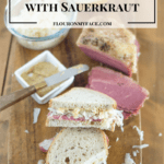 Corned Beef on Rye with Sauerkraut