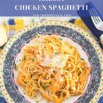 Crock Pot Cheesy Chicken Spaghetti