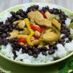 Fast and Easy Cinco de Mayo recipe Margarita LIme Chicken and Rice Bowls via flouronmyface.com