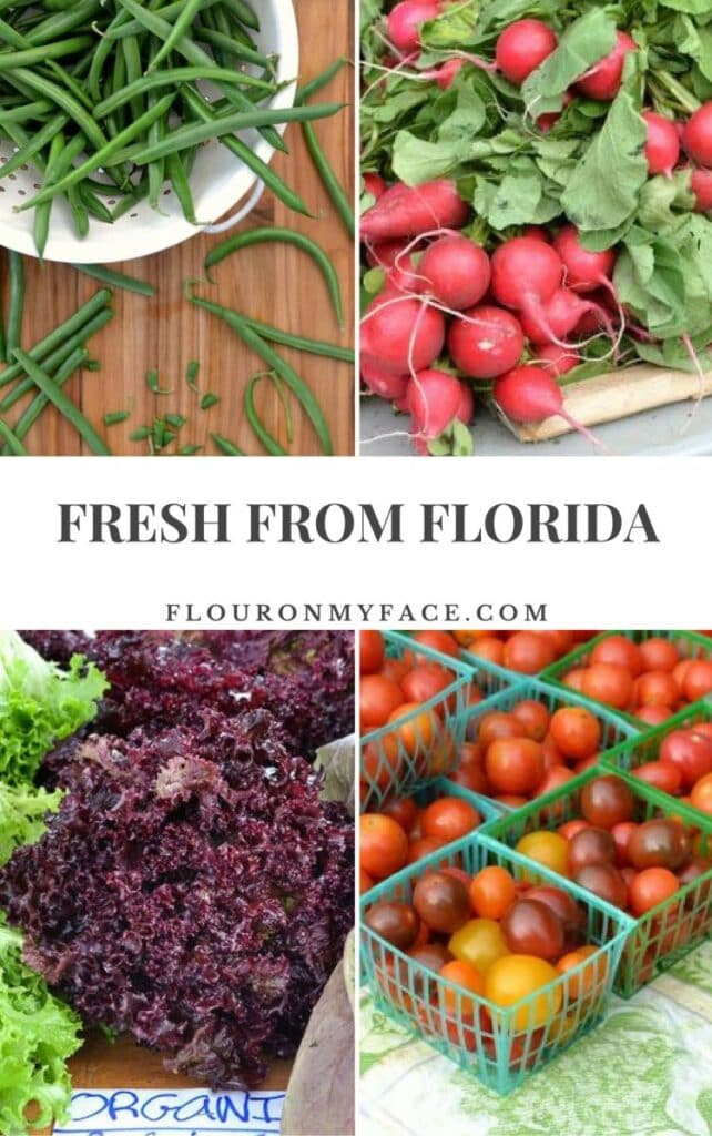 Fresh From Florida Winter Produce via flouronmyface.com #ad #freshfromflorida