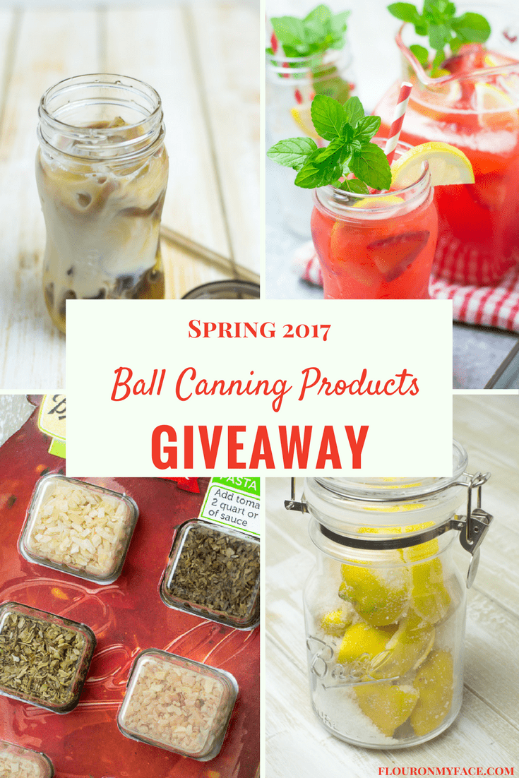 New Ball Canning products and giveaway via flouronmyface.com