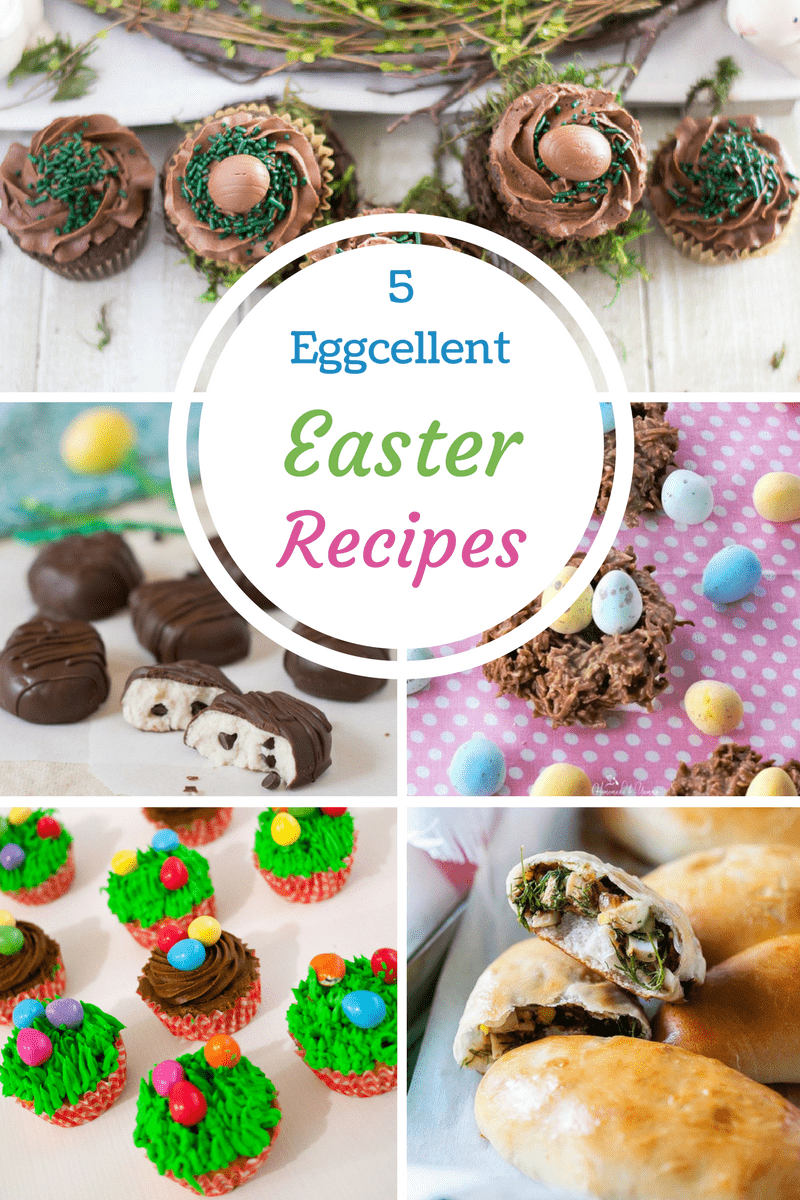 5 Eggcellent Easter Recipes featuring eggs