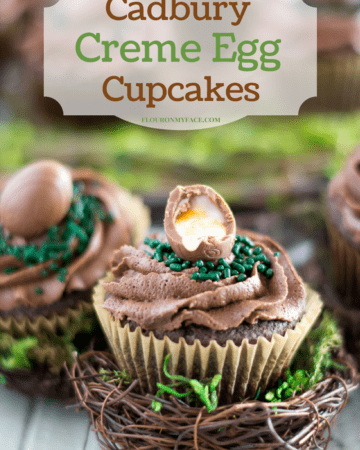 How to make Cadbury Creme Egg Cupcakes for Easter
