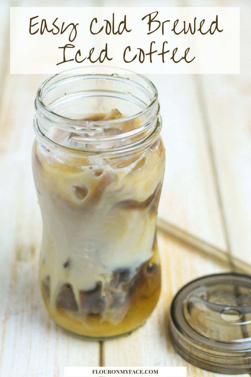 How to Make Cold Brewed Iced Coffee at home