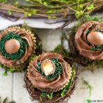 How to make Cadbury Creme Egg Cupcakes
