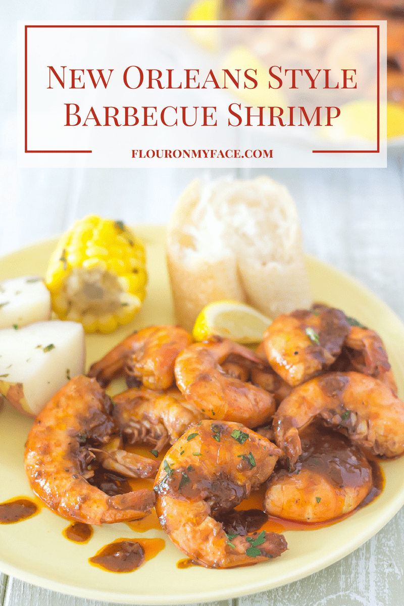 New Orleans Style Barbecue Shrimp is on the #SundaySupper menu this weekend.