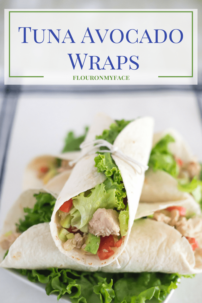 Tuna Avocado Wraps recipe