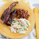 Slow Cooker country style barbecue pork ribs.