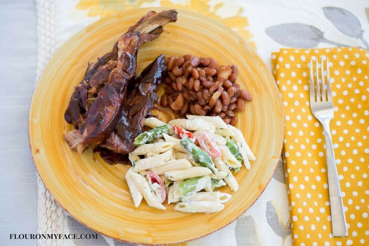 Crock Pot Slow Cooker country style barbecue pork ribs.