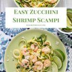 Zucchini Shrimp Scampi Recipe