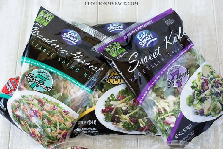 Eat Smart Bagged Super Salads are available in three