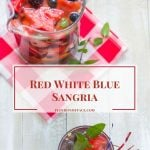 4th of July Red White Blue Sangria