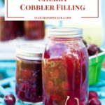 Homemade Cherry Cobbler Filling Recipe