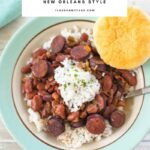 New Orleans Style Crock Pot Red Beans and Rice