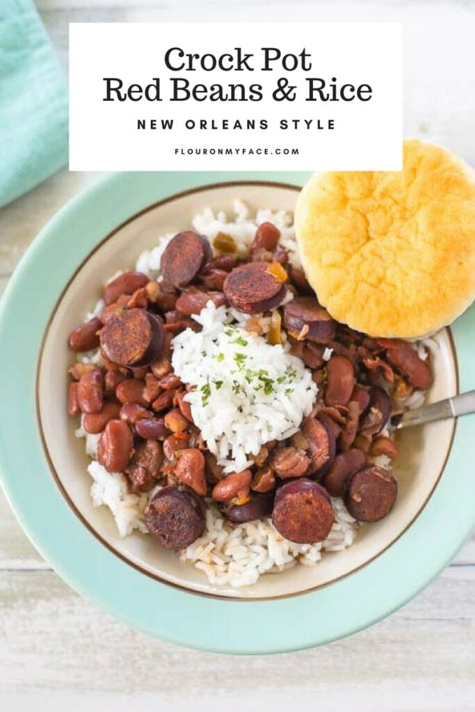 New Orleans Style Crock Pot Red Beans Rice