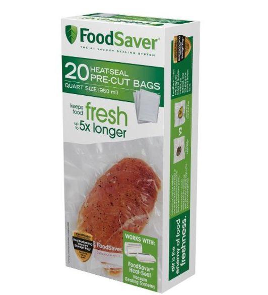 FoodSaver Quart Size Precut Bags