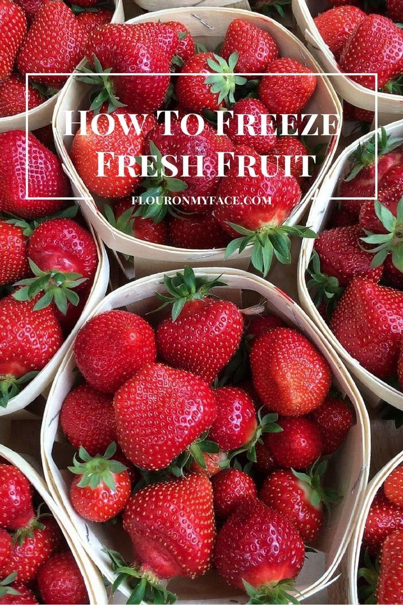 How To Freeze Fresh Berries