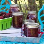 Preserving Fresh Cherries via flouronmyface.com