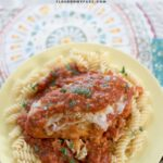 Easy Crock Pot Chicken Parmesan