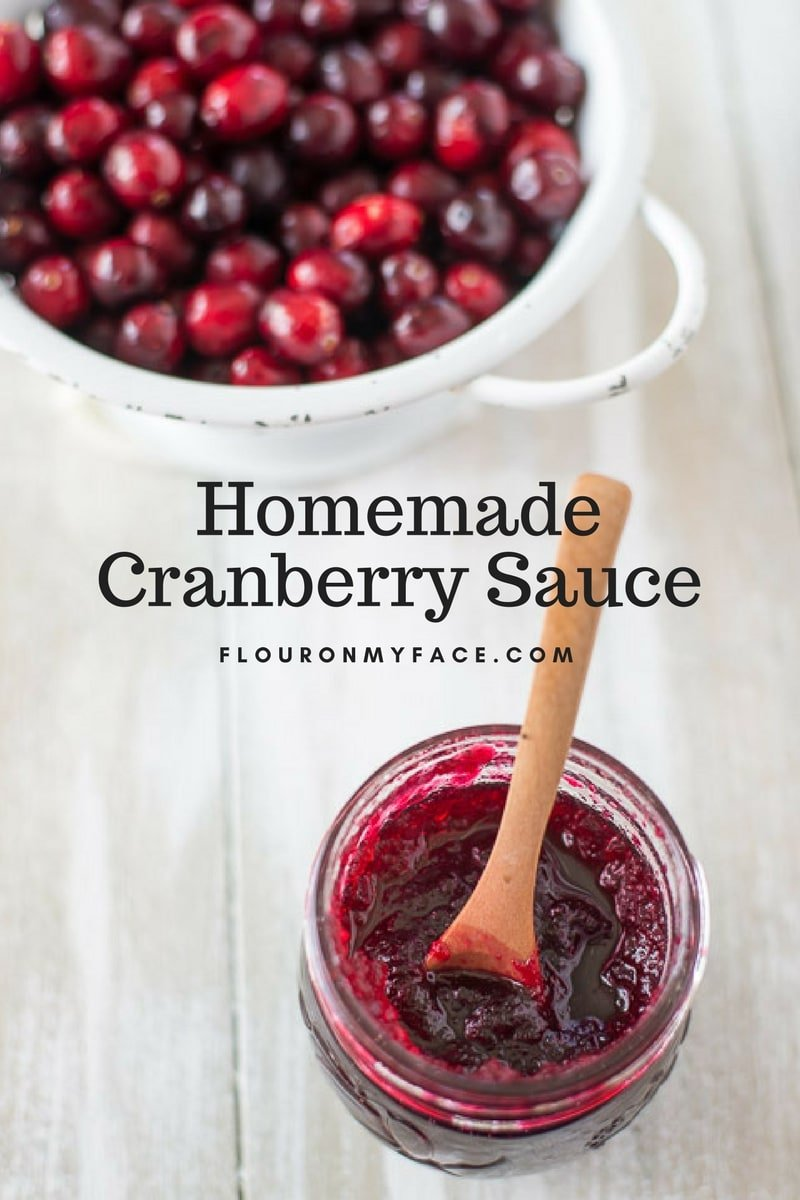 Low Sugar Homemade Cranberry Sauce Recipe