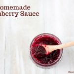 Homemade low sugar cranberry recipe canned in Ball mason jars