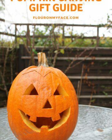 Pumpkin Carving Gift Guide #pumpkincarving #giftguide