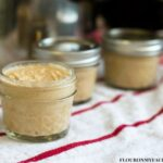 4 oz canning jars of homemade Dijon Mustard