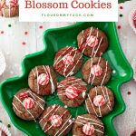 Chocolate Peppermint Blossom Cookies #GlobalFoodies