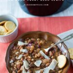 Crock Pot 15 Bean Soup Recipe-No Soak Hurst Beans