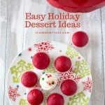 Easy Holiday Dessert recipes mini cupcake ideas for Christmas