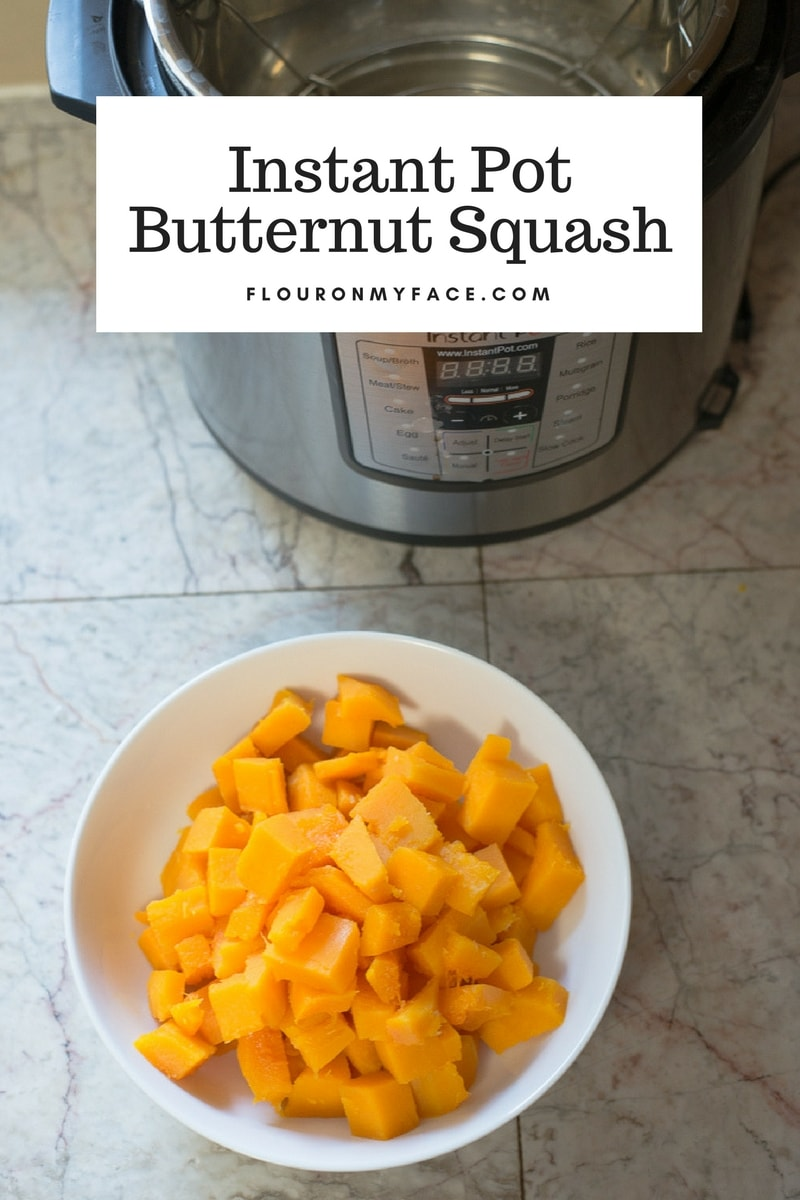 How to make firm Instant Pot Butternut Squash