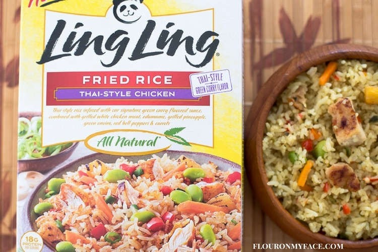 Ling Ling Asian Style Fried Rice