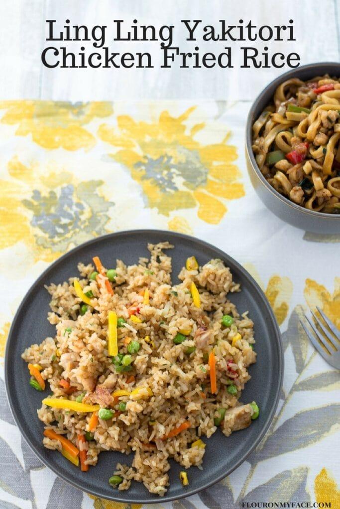 Ling Ling Yakitori Fried Rice