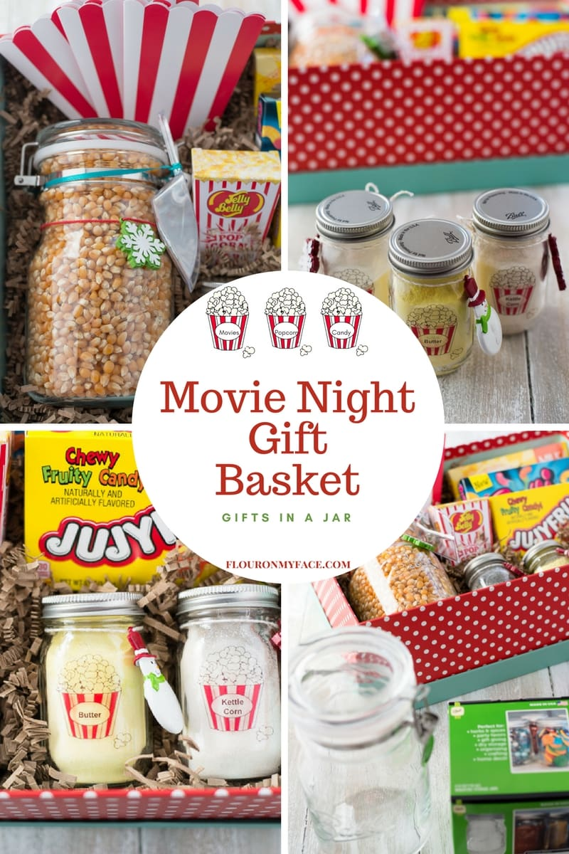 Movie Night Gift Basket – Gifts In a Jar