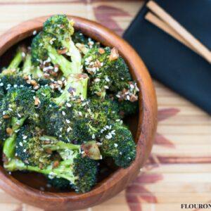 Sesame Roasted Broccoli recipe