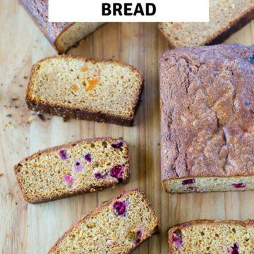 Left over Candied Sweet Potato Bread recipe
