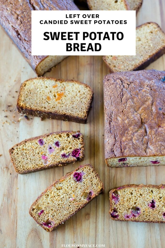 Left over Candied Sweet Potato Bread recipe