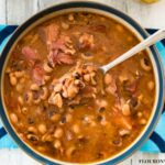 Traditional Southern Black Eyed Beans and Ham recipe