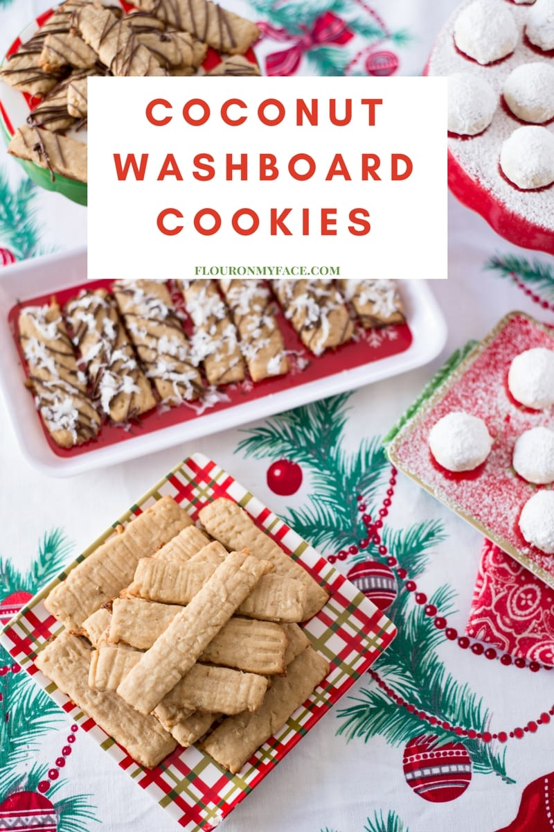 Old Fashion Coconut Washboard Cookies are one of those nostalgic Christmas recipes from our childhood and are a perfect Christmas Cookie Exchange recipe.