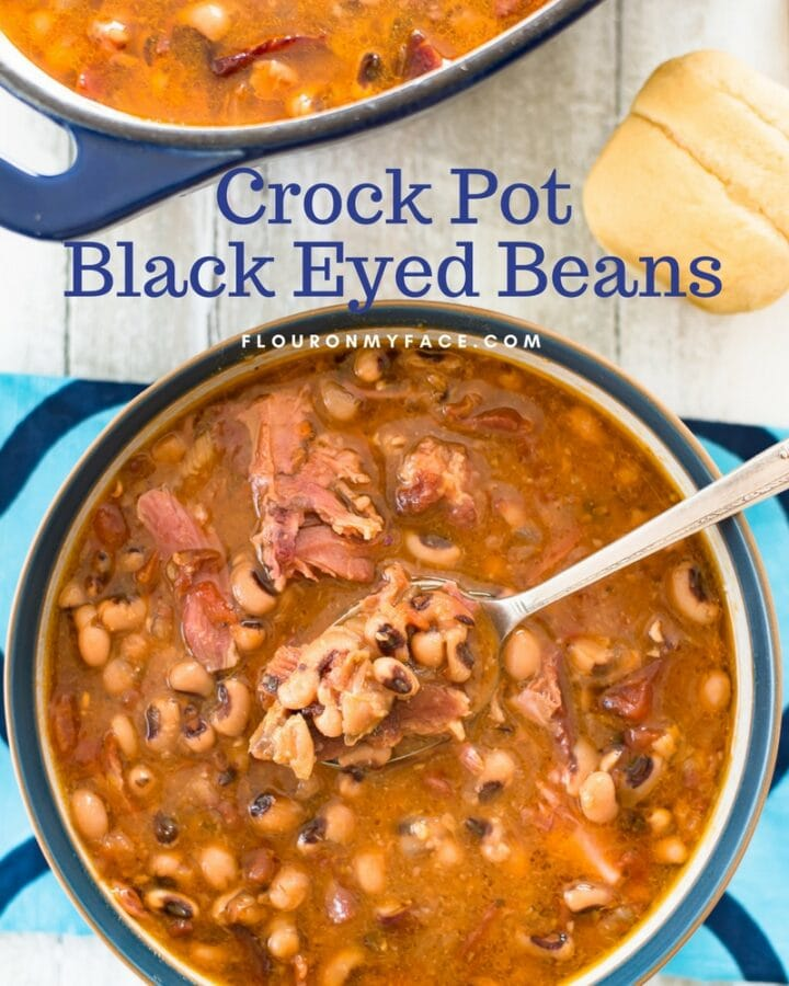 Crock Pot Black Eyed Beans recipe