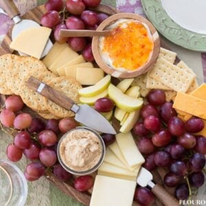 Fruit and cheese platter ideas for the holidays