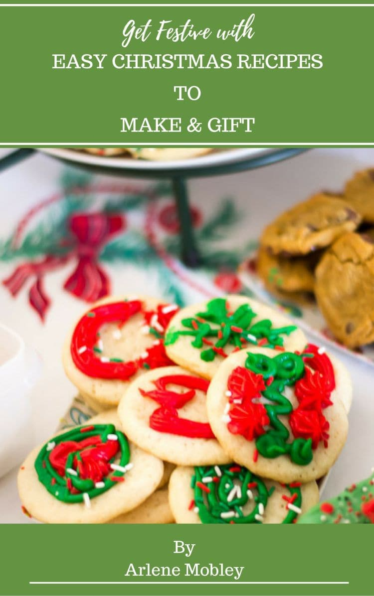 Get Festive Christmas Recipes to Make and Gift eBook Cover