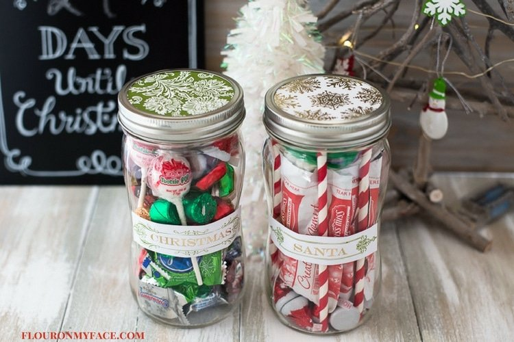 Gifts in a Jar made with Ball Mason Jars