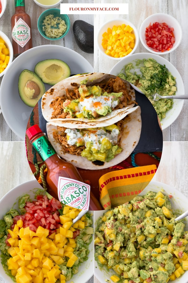 How To Make Chunky Mango Guacamole recipe for the Big Game.