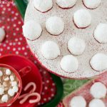 Mexican Wedding Cookies served with hot cocoa