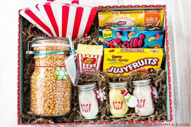 Movie Night Gift Basket Gifts In A Jar Flour On My Face